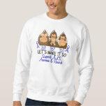 See Speak Hear No ALS 2 Sweatshirt