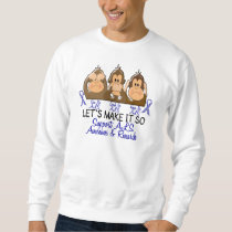 See Speak Hear No ALS 2 Sweatshirt