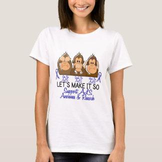 See Speak Hear No ALS 2 T-Shirt