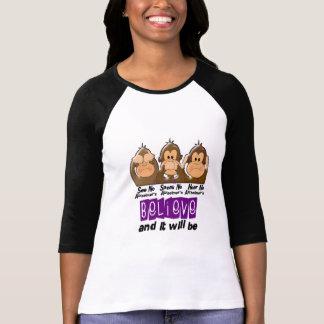 See Speak Hear No Alzheimers Disease 3 T-shirts