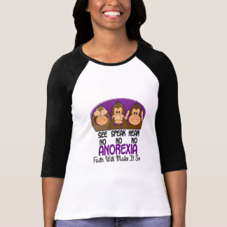 See Speak Hear No Anorexia 1 Tee Shirts