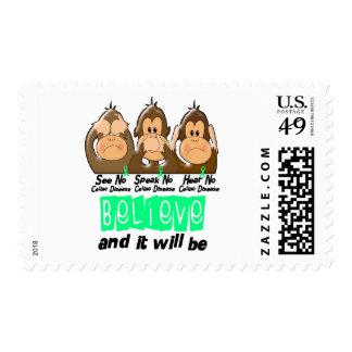 See Speak Hear No Celiac Disease 3 Stamps
