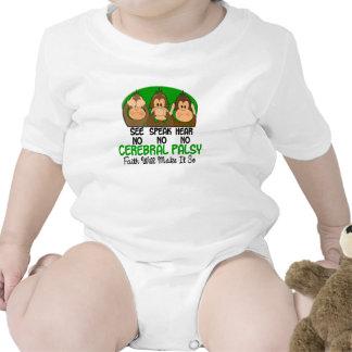 See Speak Hear No Cerebral Palsy 1 Tshirts
