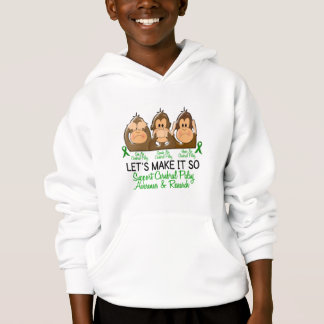 See Speak Hear No Cerebral Palsy 2 Hoodie