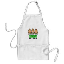 See Speak Hear No Cerebral Palsy 3 Adult Apron