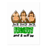 See Speak Hear No Cerebral Palsy 3 Post Cards