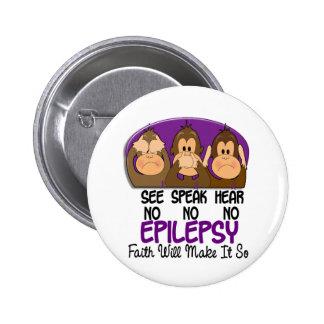 See Speak Hear No Epilepsy 1 Button