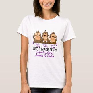 See Speak Hear No Epilepsy 2 T-Shirt