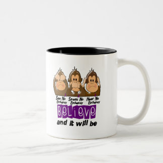 See Speak Hear No Epilepsy 3 Two-Tone Coffee Mug