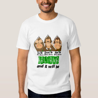 See Speak Hear No Kidney Disease 3 T-shirt