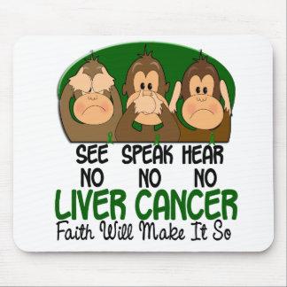 See Speak Hear No Liver Cancer 1 Mouse Mat
