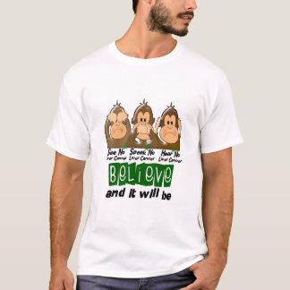 See Speak Hear No Liver Cancer 3 T-Shirt