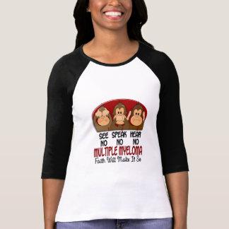 See Speak Hear No Multiple Myeloma 1 T-Shirt