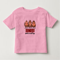 See Speak Hear No Multiple Myeloma 3 Toddler T-shirt