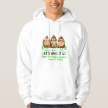 See Speak Hear No Non-Hodgkins Lymphoma 2 Hoodie