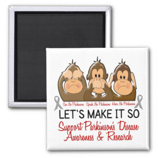 See Speak Hear No Parkinsons Disease 2 Magnet