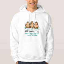 See Speak Hear No Polycystic Kidney Disease 2 Hoodie