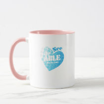 See the Able Not The Label Autism Awareness Gift Mug