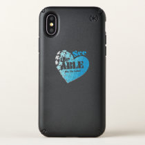 See the Able Not The Label Autism Awareness Gift Speck iPhone X Case