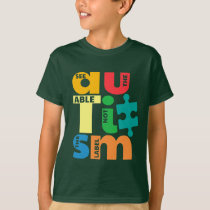 See The Able Not the Label Autism T-Shirt