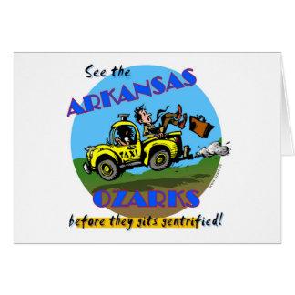 See the Arkansas Ozarks Card