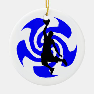SEE THE BLUE CERAMIC ORNAMENT