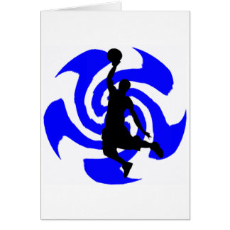 SEE THE BLUE GREETING CARD