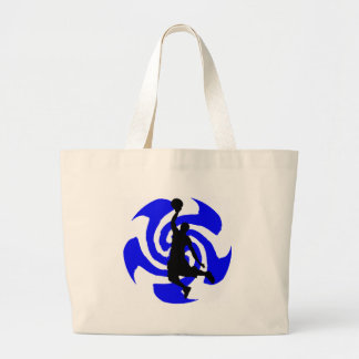 SEE THE BLUE LARGE TOTE BAG