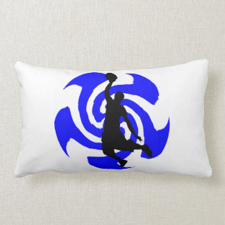 SEE THE BLUE PILLOW