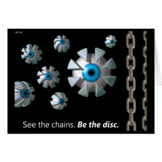See The Chains Greeting Card