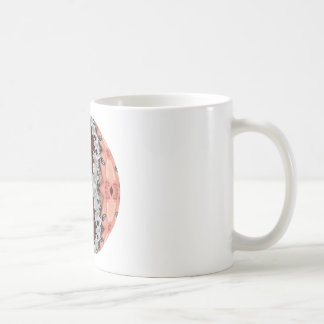See the Flowers Classic White Coffee Mug