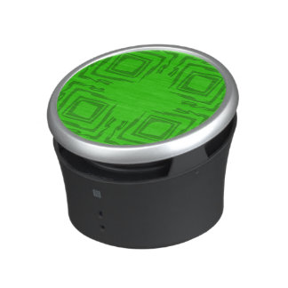 See The Forest Abstract Art Green Speaker