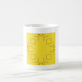 See The Forest Abstract Art Mug In Yellow
