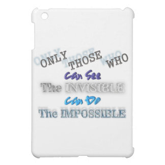 See the invisible Do the Impossible Case For The iPad Mini