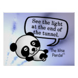 See the light at the end of the tunnel poster