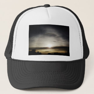 See the light trucker hat
