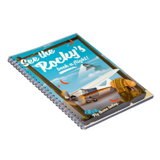 """See The Rocky's """"Book a flight!"""" Notebook"""