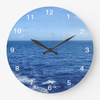 See the Sea Wall Clock