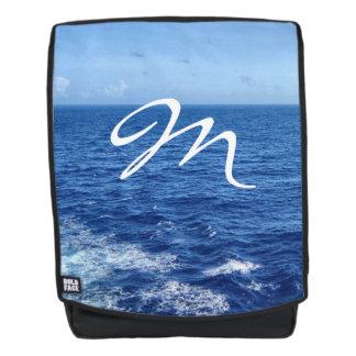 See the Sea Monogrammed Backpack