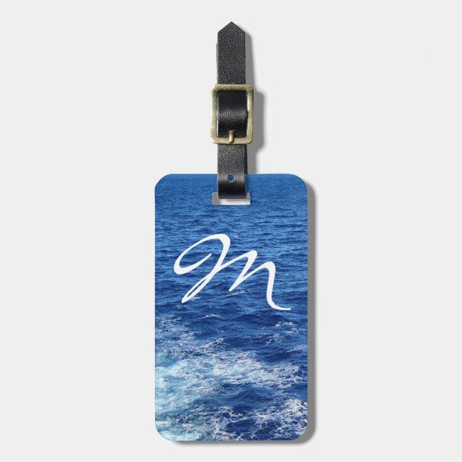 See the Sea Monogrammed