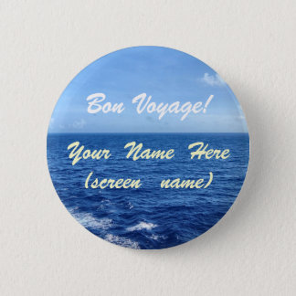 See the Sea Pinback Button