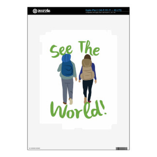 See The World Decals For iPad 3