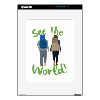 See The World Decals For The iPad