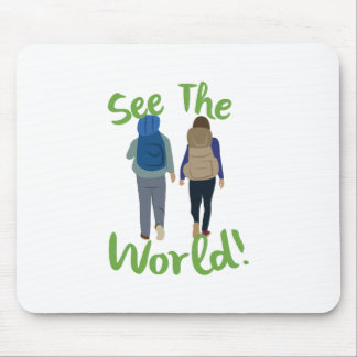 See The World Mouse Pad