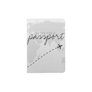 See the world. passport holder