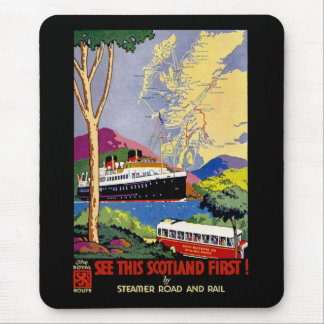 See This Scotland First! Mouse Pad