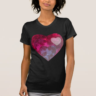 "See-Through and ""Inferno"" Hearts T-Shirt"