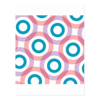 See through rings postcard