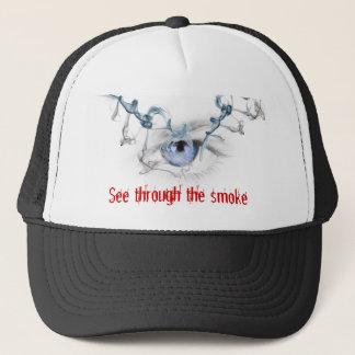 See through the Smoke Trucker Hat