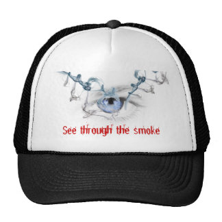 See through the Smoke Trucker Hat